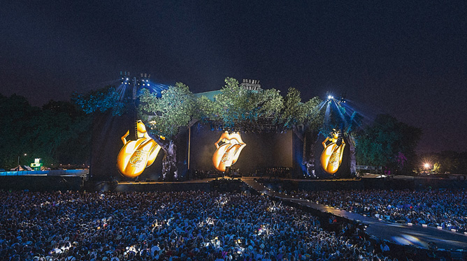 THE ROLLING STONES SWEET SUMMER SUN : HYDE PARK LIVE