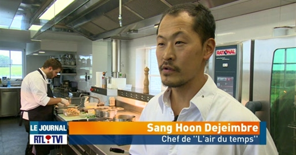 rencontre avec le cuisinier belge sang hoon degeimbre vid o rtl vid os. Black Bedroom Furniture Sets. Home Design Ideas