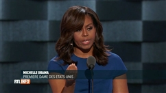 "Michelle Obama défend ""Hillary"" avec passion"