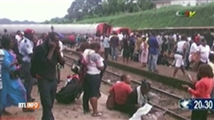 Terrible accident de train au Cameroun: 55 morts et près de 600 blessés
