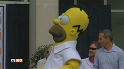 "Le ""Hall of Fame"" du baseball intronise… Homer Simpson"