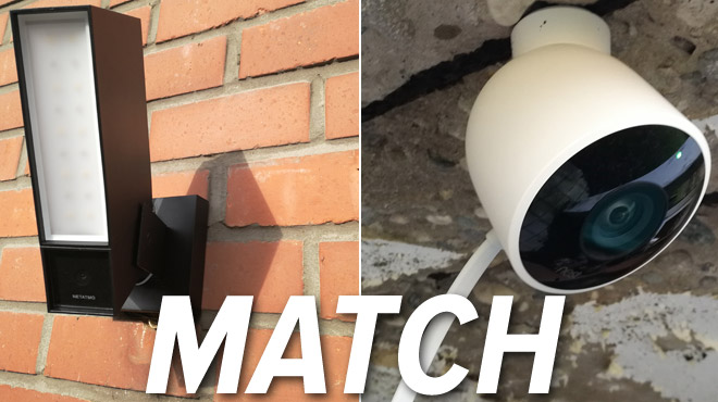comparatif nest cam outdoor netatmo presence quelle est la meilleure cam ra de s curit d. Black Bedroom Furniture Sets. Home Design Ideas
