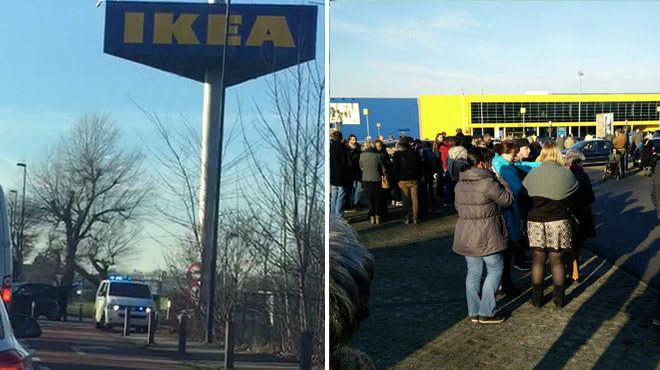 le magasin ikea de zaventem rouvert apr s avoir t vacu