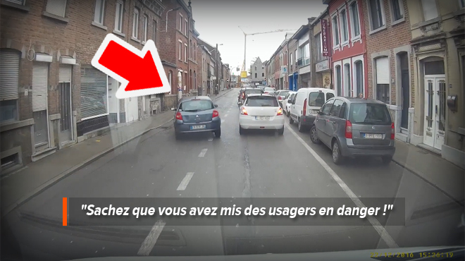 soumagne damien filme un d passement tr s dangereux avec sa dashcam vid o rtl info. Black Bedroom Furniture Sets. Home Design Ideas