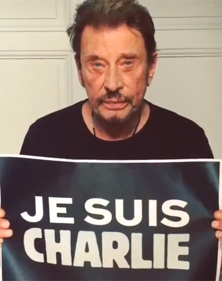 Charlie hebdo johnny hallyday je suis charlie nous sommes tous charlie vid o rtl people - Johnny hallyday coupe du monde 2002 ...