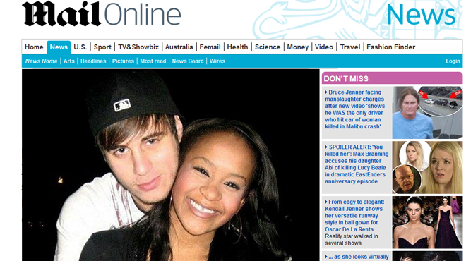 bobbi kristina a t elle essay de se suicider voici pourquoi un de ses ex le pense rtl people. Black Bedroom Furniture Sets. Home Design Ideas