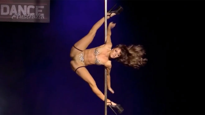 Pity, Wife pole dancing naked thought
