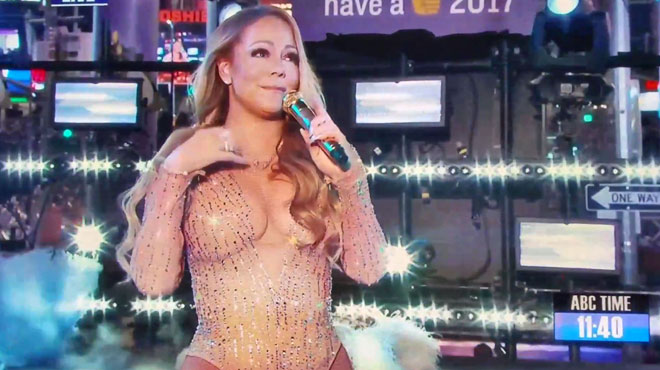 mariah carey va rechanter times square pour conjurer le sort retour sur son chec du nouvel. Black Bedroom Furniture Sets. Home Design Ideas