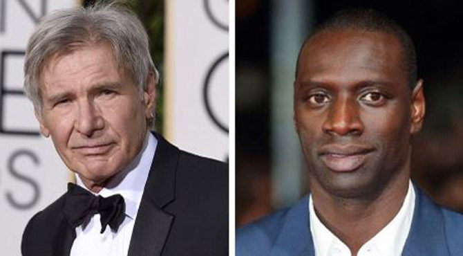 Omar Sy rencontre Harrison Ford: son ascension à Hollywood - RTL People