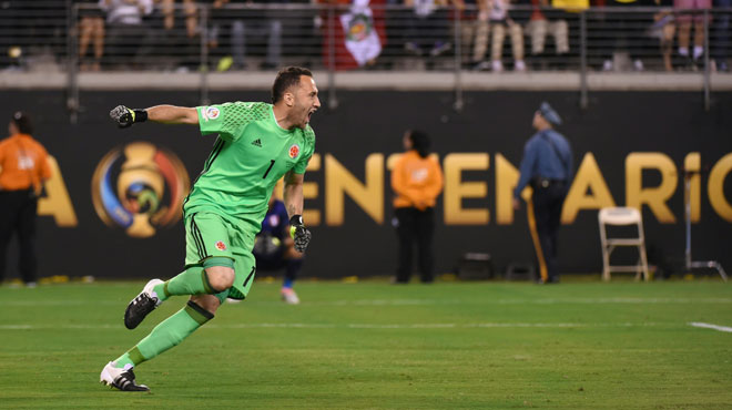 rencontres copa america Arsenal keeper david ospina lights up copa america with gordon banks-esque save.