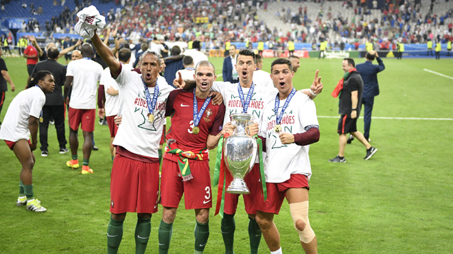 Le portugal est champion d 39 europe les 5 joueurs du titre - Coupe du portugal football ...
