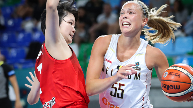 Coupe du monde de basket f minin la belgique chute face au japon apr s prolongation rtl sport - Coupe d europe basket feminin ...