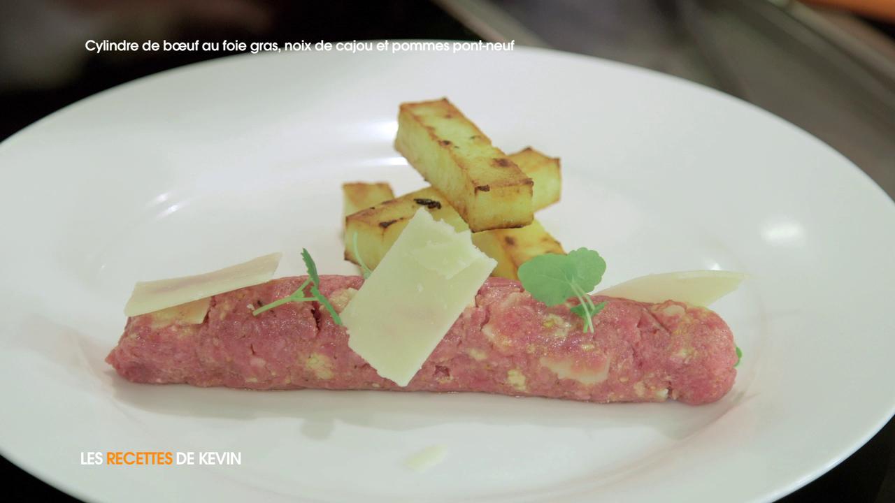 Voir la recette  Cylindre de bœuf au foie gras, noix de cajou et pommes