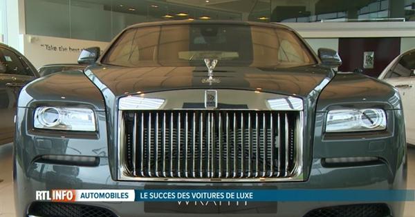 boum des ventes de voitures de luxe en belgique vid o. Black Bedroom Furniture Sets. Home Design Ideas