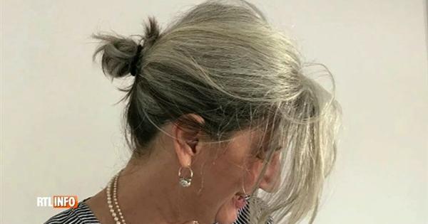 elle a arr t les teintures pour laisser pousser ses cheveux blancs vid o rtl vid os. Black Bedroom Furniture Sets. Home Design Ideas