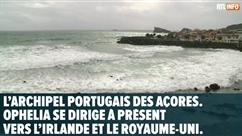 Un ouragan rare se dirige vers l'Irlande