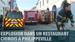 Explosion dans un restaurant chinois à Philippeville