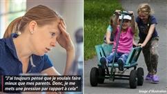 De plus en plus de parents craquent: épuisement physique et émotionnel