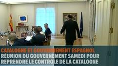 Le gouvernement espagnol en passe de prendre le contrôle de la Catalogne
