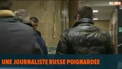 Un homme poignarde une journaliste russe en pleine rédaction