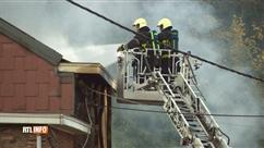 """""""Gros boum"""" à Saint-Nicolas: un incendie a ravagé une maison"""