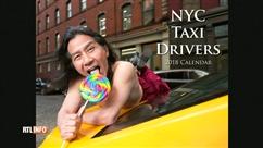 Les taximen de NY dévoilent leur face torride dans un calendrier... Et pour la bonne cause!