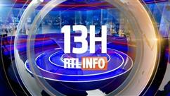 Les titres RTLInfo 13H