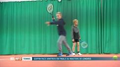David Goffin, l'idole des jeunes joueurs de tennis en Belgique