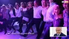 Didier Reynders ne fait jamais la fête? Faux