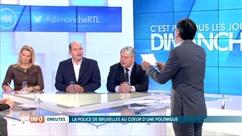Emeutes à Bruxelles: la police au coeur d'un débat dans C'est pas tous les jours dimanche