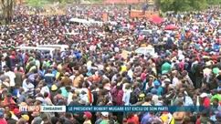 Robert Mugabe désavoué par son parti