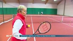 David Goffin était sur toutes les lèvres au Stars Tennis Télévie !