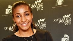 Nafissatou Thiam première Belge de l'histoire à obtenir le titre d'athlète mondiale de l'année