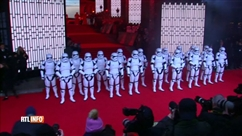 Sortie aujourd'hui du nouveau Star Wars: spectaculaire avant-première hier à Londres