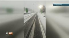 """""""Chute importante de neige sur la E411"""""""