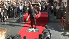 Dwayne Johnson a son étoile sur le Walk of Fame