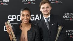 David Goffin et Nafi Thiam couronnés sportifs belges de l'année