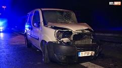 Collision entre une épandeuse et une camionnette à Montigny-le-Tilleul: un blessé grave