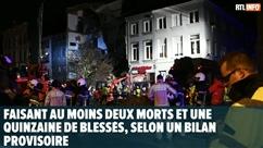 Violente explosion à Anvers: au moins deux morts et une quinzaine de blessés