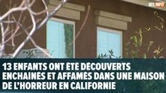 """13 enfants attachés découverts dans une maison en Californie: """"Ils étaient très pâles, comme s'ils n'avaient jamais vu le soleil"""""""