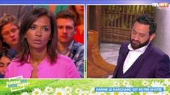 """TPMP: Karine Le Marchand avoue avoir été """"tripotée"""" par des agriculteurs de l'amour est dans le pré"""