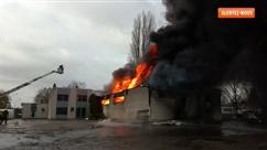 Un violent incendie ravage une usine à Herstal