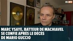 Marc Ysaye évoque une anecdote vécue avec Mario Guccio, le chanteur de Machiavel