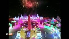Nouvel an chinois : palais de glace et feux d'artifice