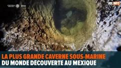La plus grande caverne sous-marine du monde découverte au Mexique: elle pourrait révéler des secrets mayas