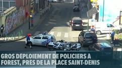 Gros déploiement de policiers à Forest