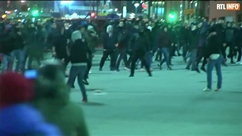 Europa League: des affrontements éclatent avant le match entre l'Athletic Bilbao et le Spartak Moscou, un policier est mort