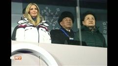Images fortes de la cérémonie de clôture des JO: les deux Corées défilent ensemble et la présence d'Ivanka Trump