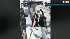 Effrayant: un télésiège éjecte des skieurs en Géorgie, plusieurs personnes blessées (vidéo)