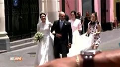 Mariage du prince Christian de Hanovre: découvrez la magnifique robe d' Alessandra de Osma